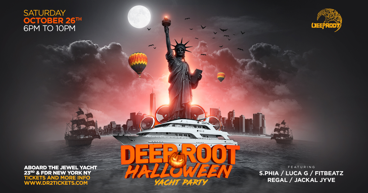 Deep Root Halloween '19 Yacht Party