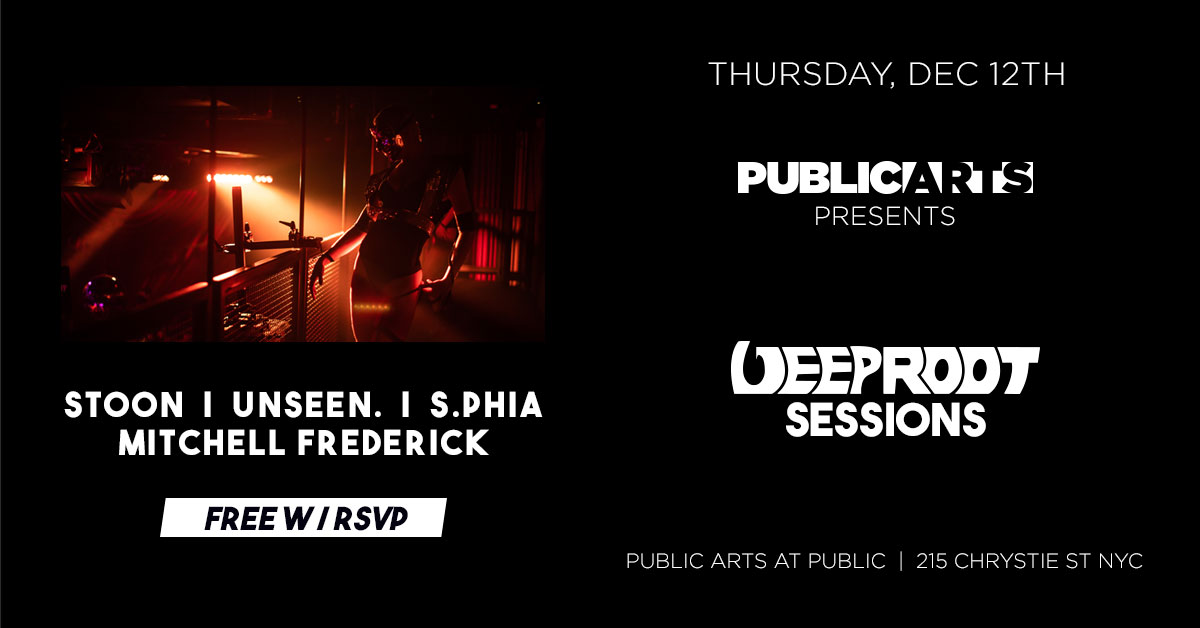 Deep Root Sessions At Public Arts 12/12