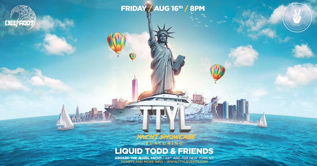 The TTYL x Deep Root Yacht Party