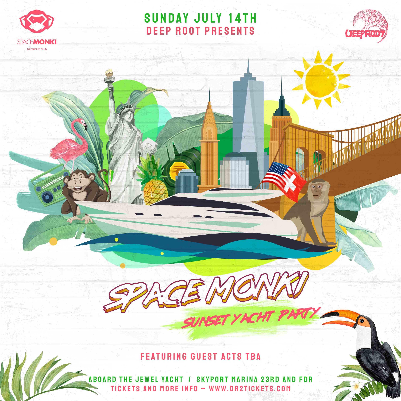 The SpaceMonki Sunset Yacht