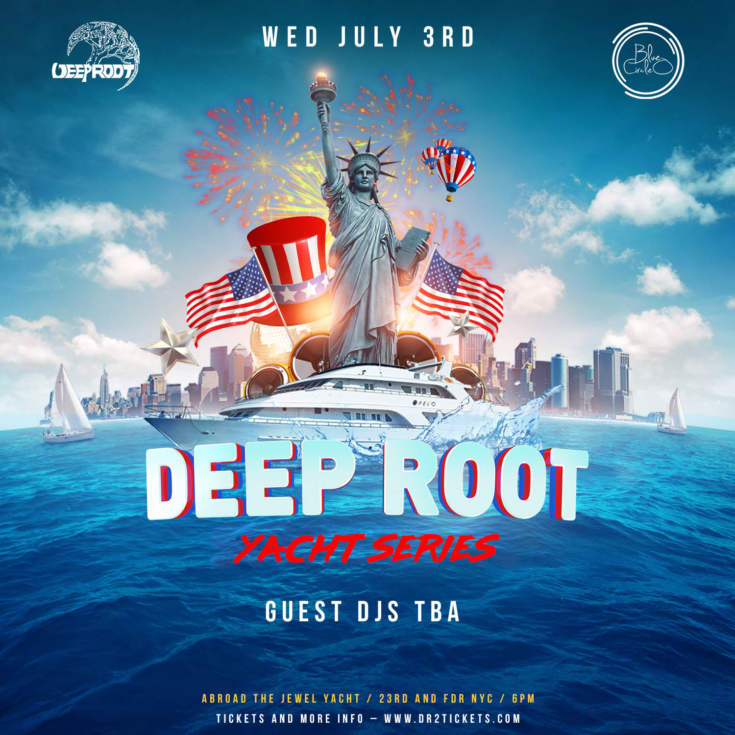 Pre July 4th Yacht Party