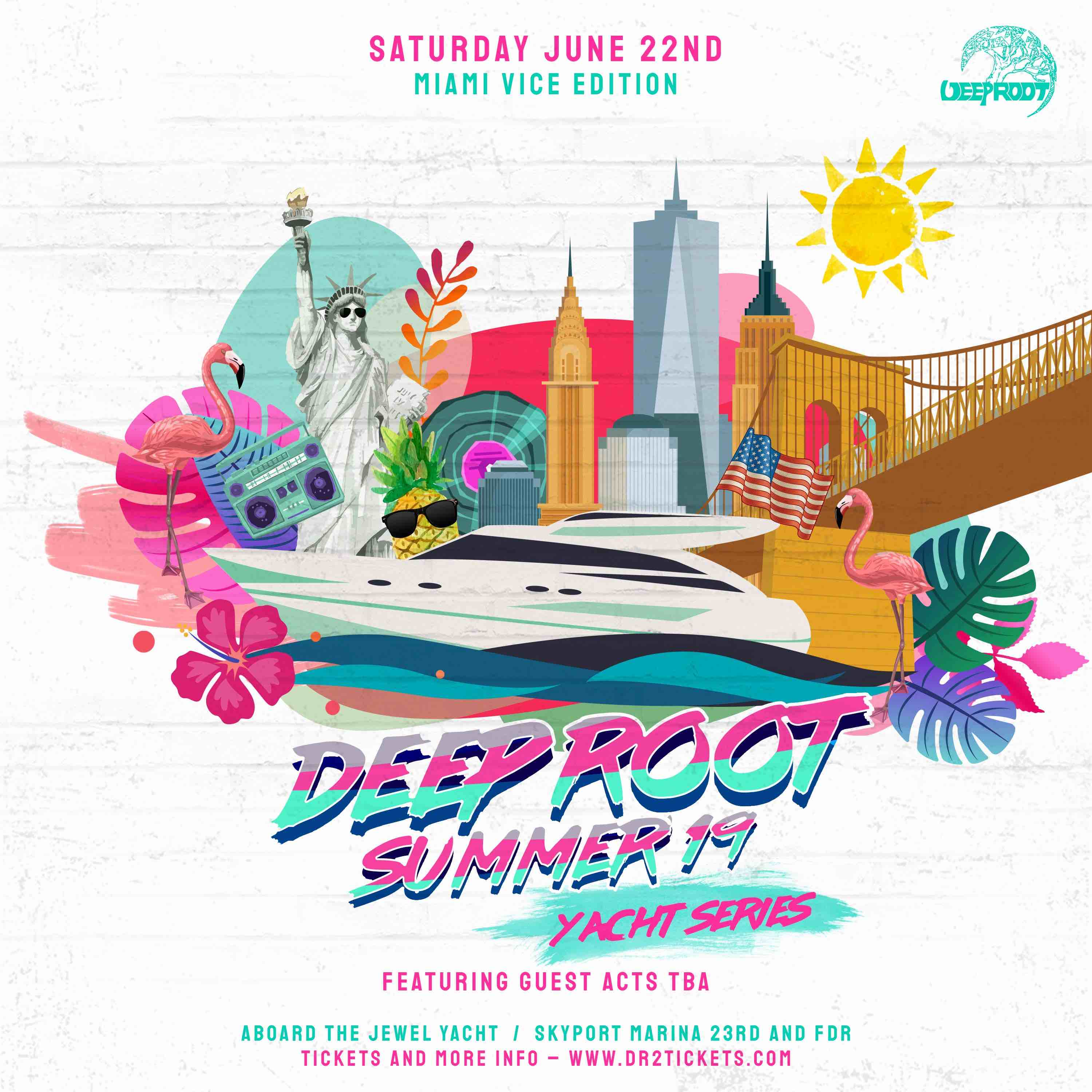 The Deep Root Yacht Party: Miami Vice