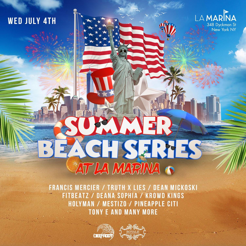 July 4th BBQ Beach Party At La Marina
