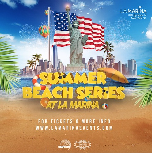 BBQ Beach Party At La Marina August 4th