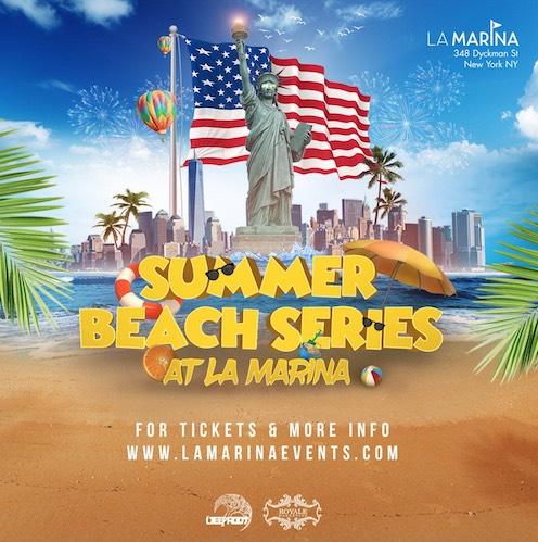July 4th 2018 Beach Party At La Marina
