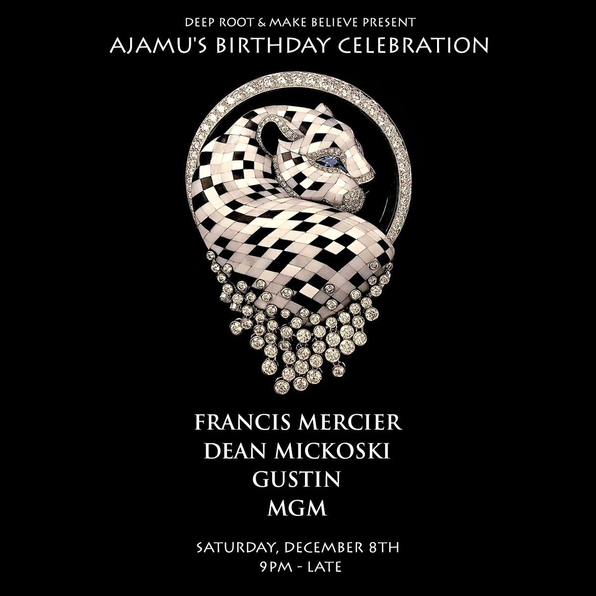 Deep Root Presents Ajamu's Bday Showcase At Make Believe