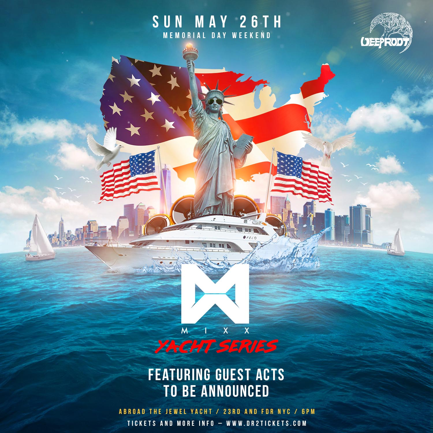 Memorial Day Weekend On The Jewel Yacht