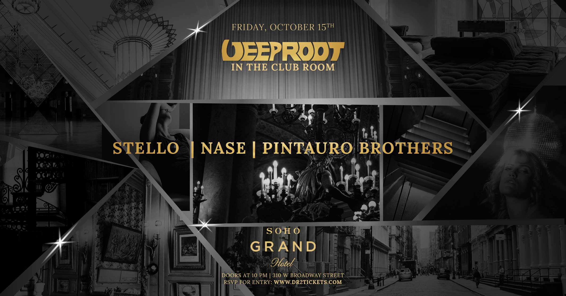 Tech House At The Club Room in Soho Grand [10/15]