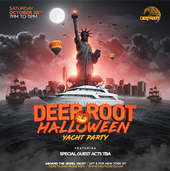 Deep Root Halloween '17 Yacht Party