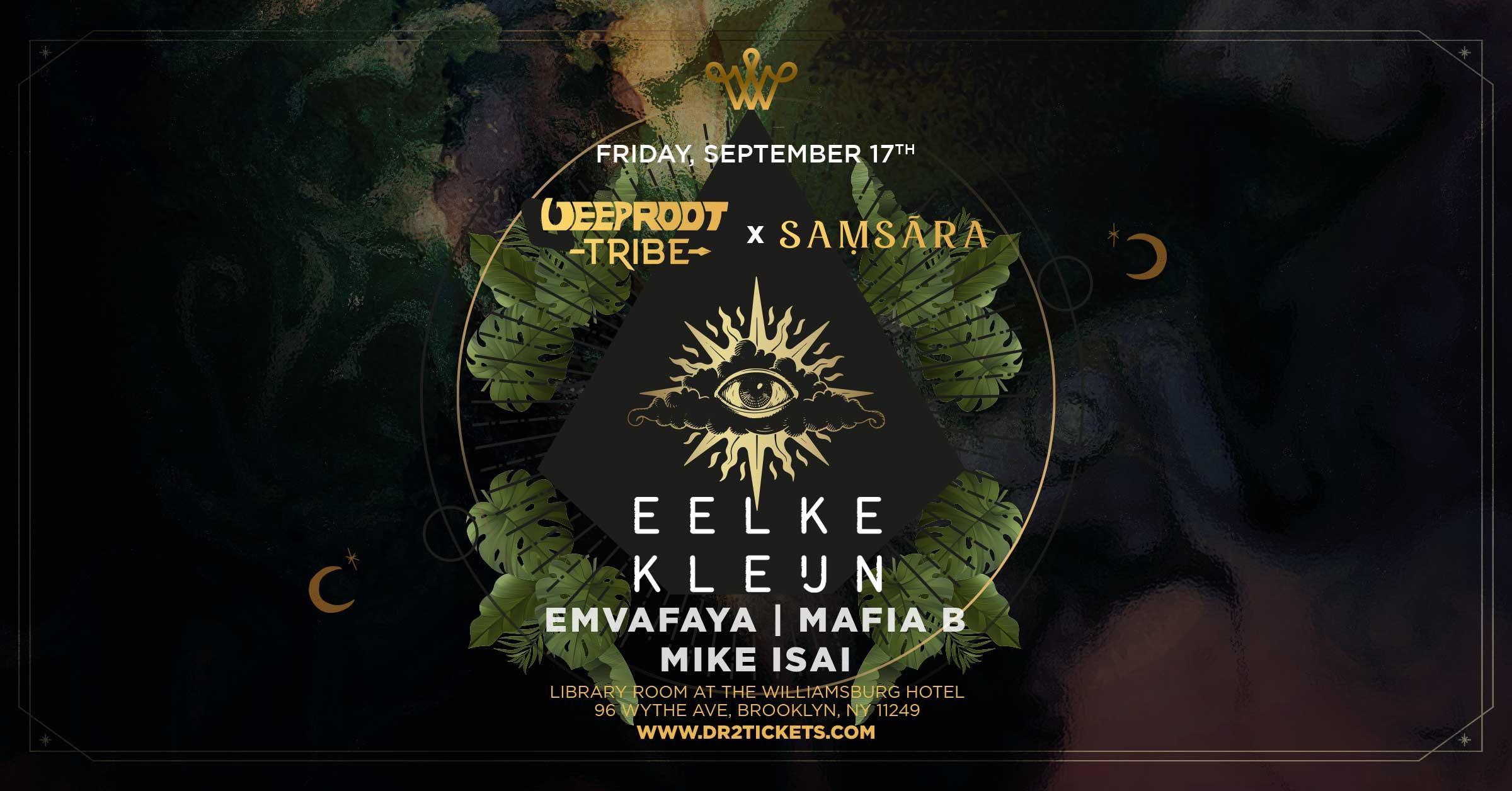 Deep Root Tribe & Samsara Present Eelke Kleijn In The Library Room At The Williamsburg Hotel