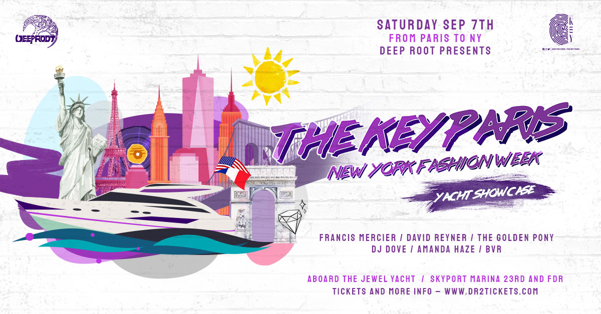 The Key Paris – NY Fashion Week Yacht Party