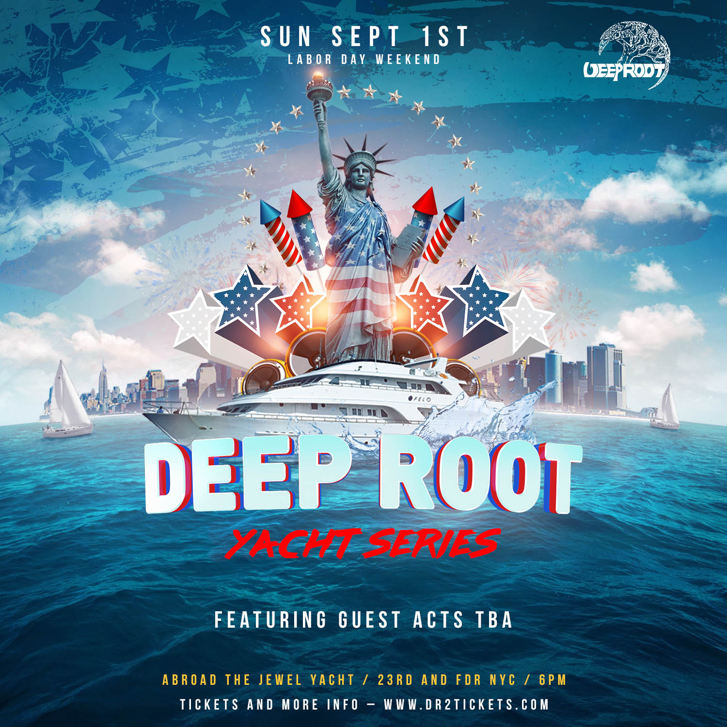 Labor Day Weekend '19 Yacht Party