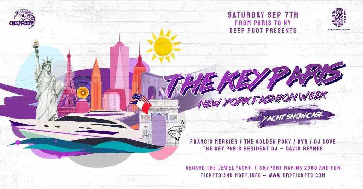 The Key – NY Fashion Week Yacht Party