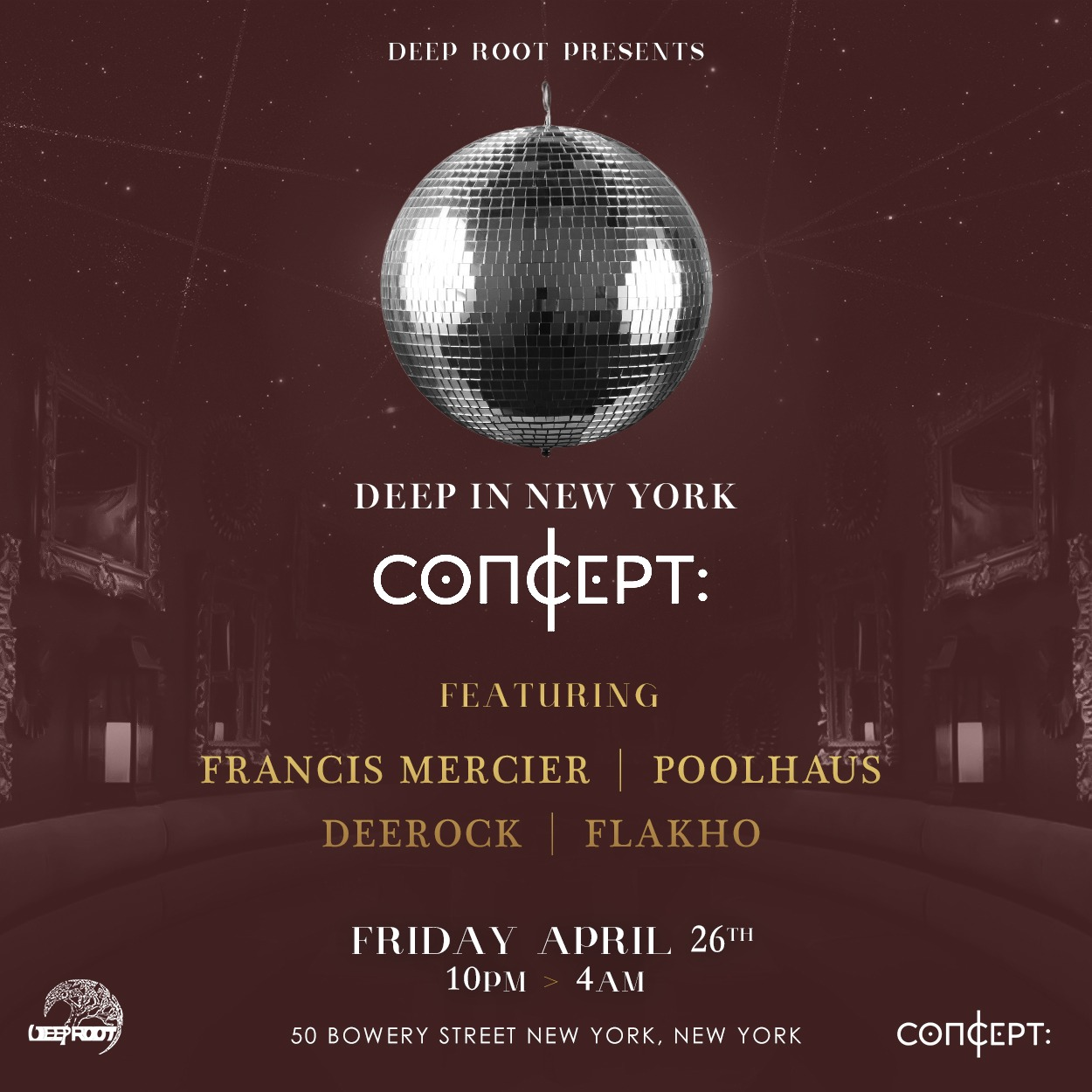 Deep In NYC - Friday, April 26th