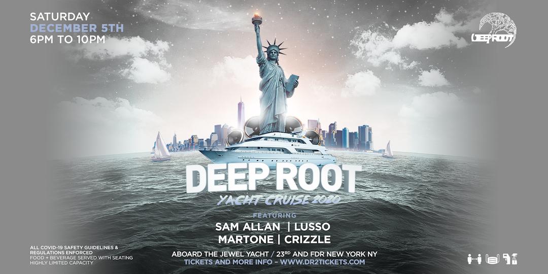 Deep Root Grand Finalè Cruise On The Jewel