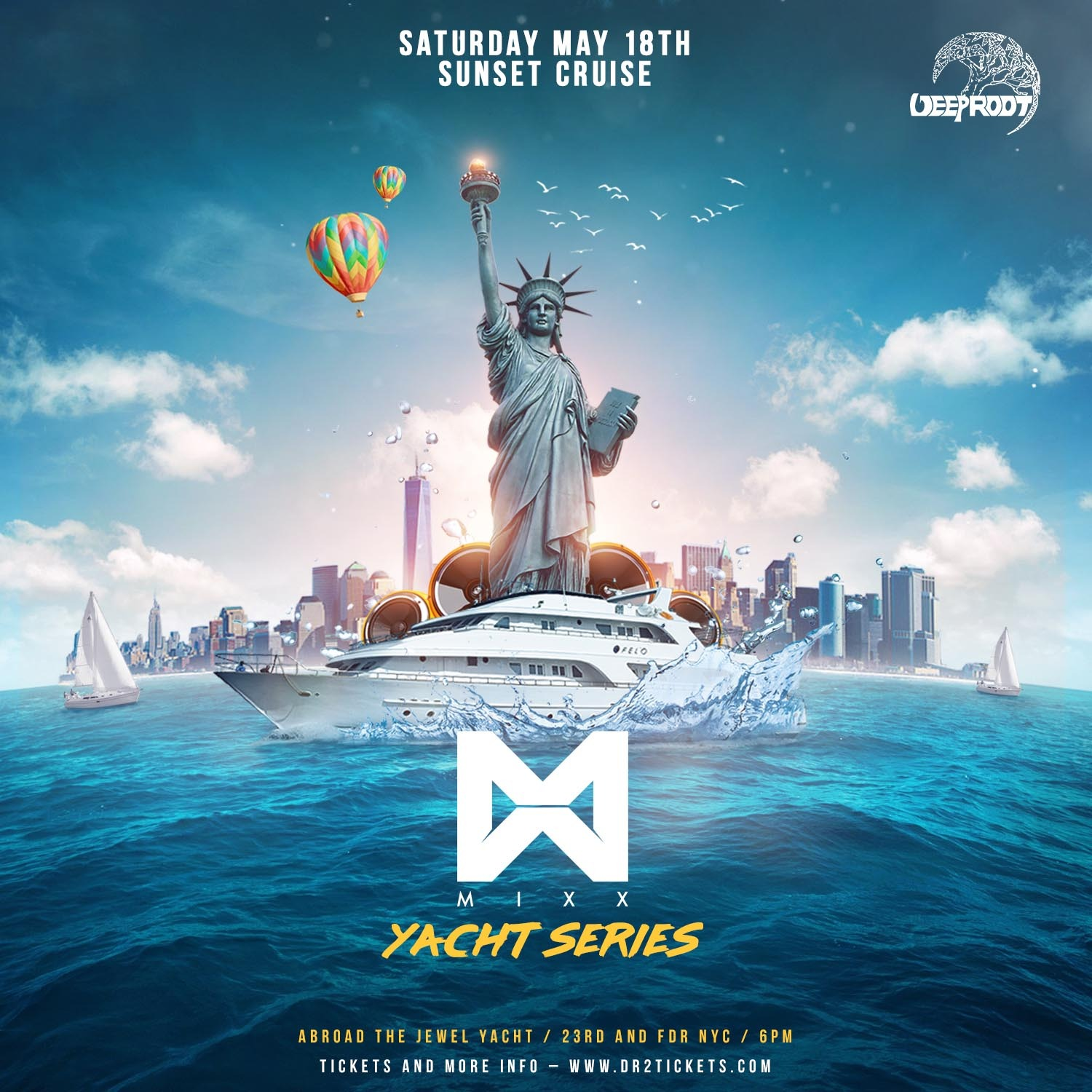 Grand Premier – Jewel Yacht Party