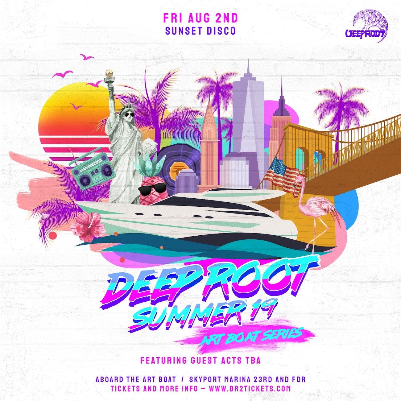 The Art Boat Yacht: Sunset Disco Party