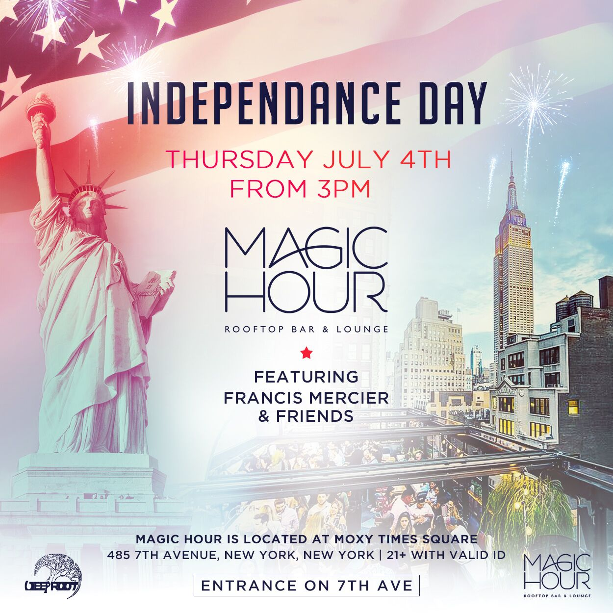 4th Of July At Magic Hour