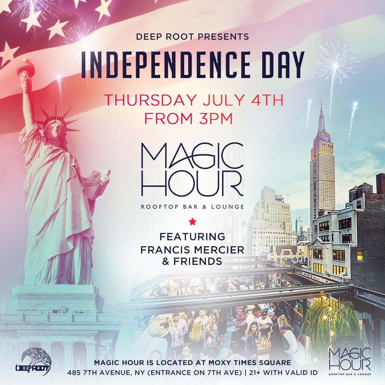 July 4th At Magic Hour Rooftop