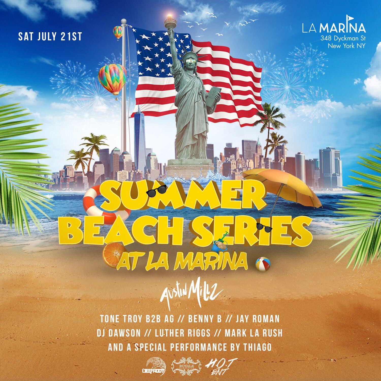 BBQ Beach Party At La Marina July 21st
