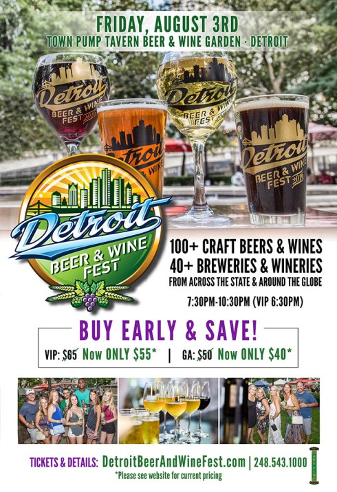 Detroit Beer and Wine Fest - Summer 2018