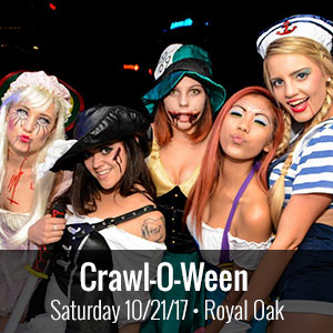 Crawl-O-Ween | 10.21.17 | 1pm - 6pm