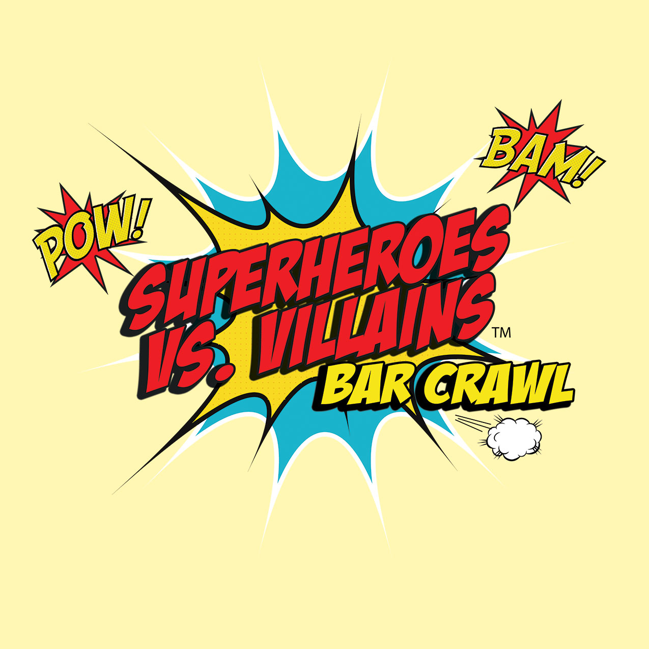 Superheroes vs. Villians Bar Crawl | 6.24.17 | 1pm - 6pm