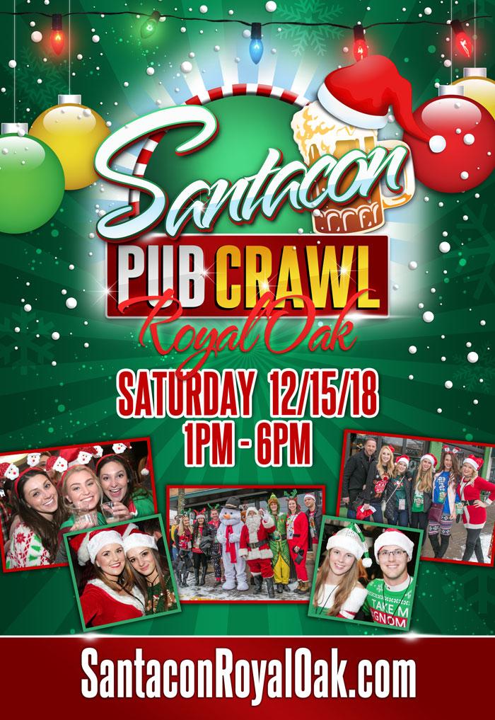 Santacon - Royal Oak - 2018