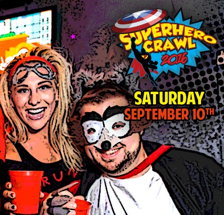 Superhero Crawl 2016