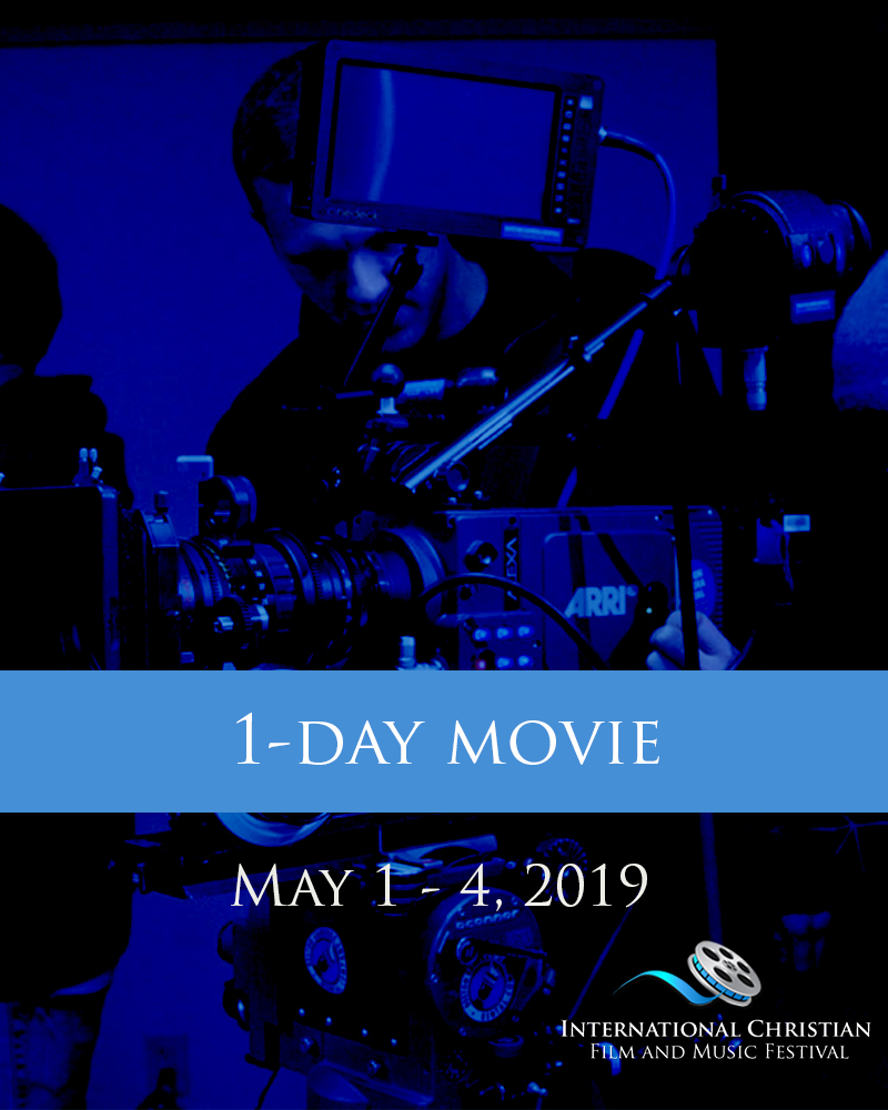 1-DAY MOVIE TICKET - International Christian Film and Music Festival