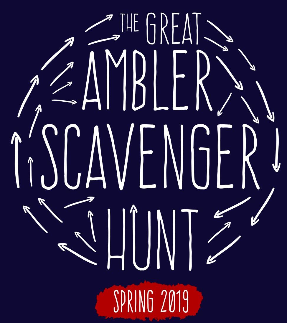 The Great Ambler Scavenger Hunt | Spring Edition