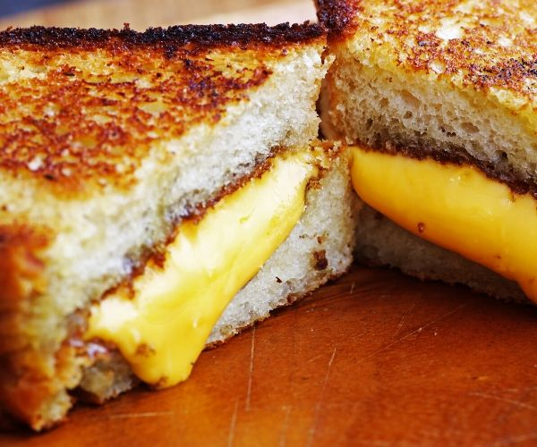 The Conshy Grilled Cheese Bender