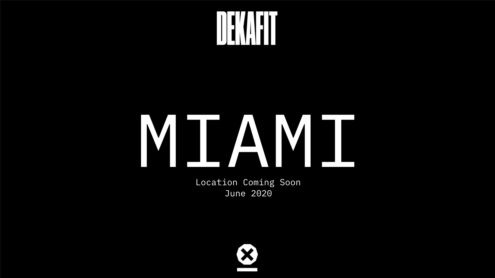 DEKAFIT Florida - PRE REGISTRATION