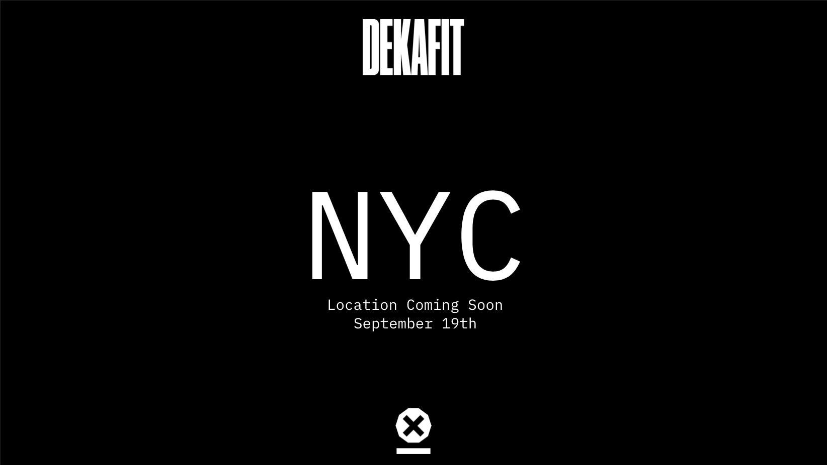 DEKAFIT New York City - PRE REGISTRATION