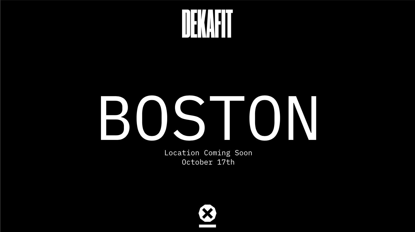 DEKAFIT Boston - PRE REGISTRATION