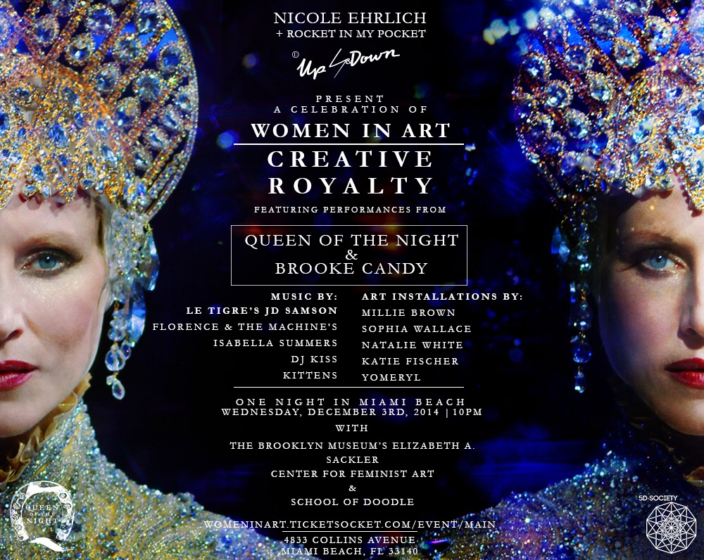 A Celebration Of Woman in Art: Creative Royalty