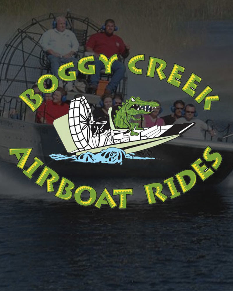 Boggy Creek- Adults at Kids Prices Special