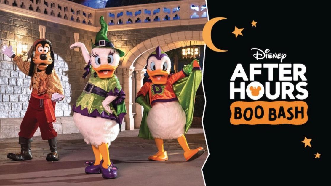 Disney's Boo Bash on October 10, 2021