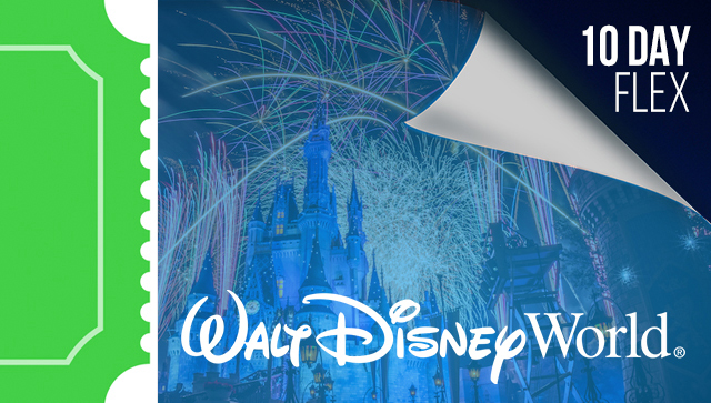 10 Day Disney Flexible Date Ticket
