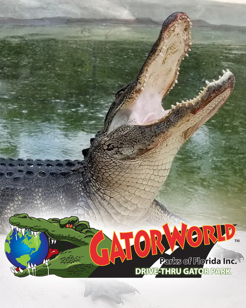 Gator World Drive Thru Park