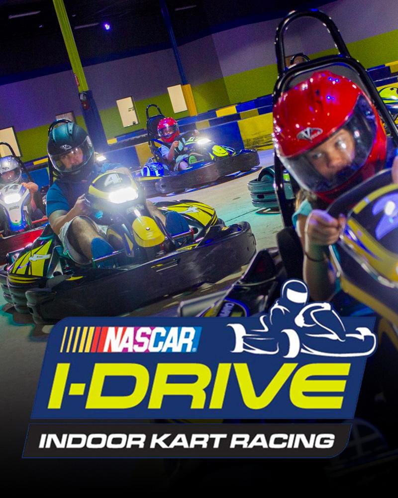 IDRIVE NASCAR INDOOR KART RACING