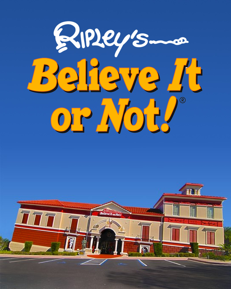 RIPLEY'S BELIEVE IT OR NOT ORLANDO - KGS