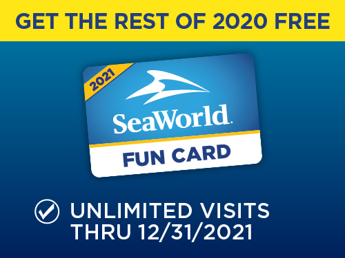 SeaWorld, Busch Gardens, Aquatica Fun Cards