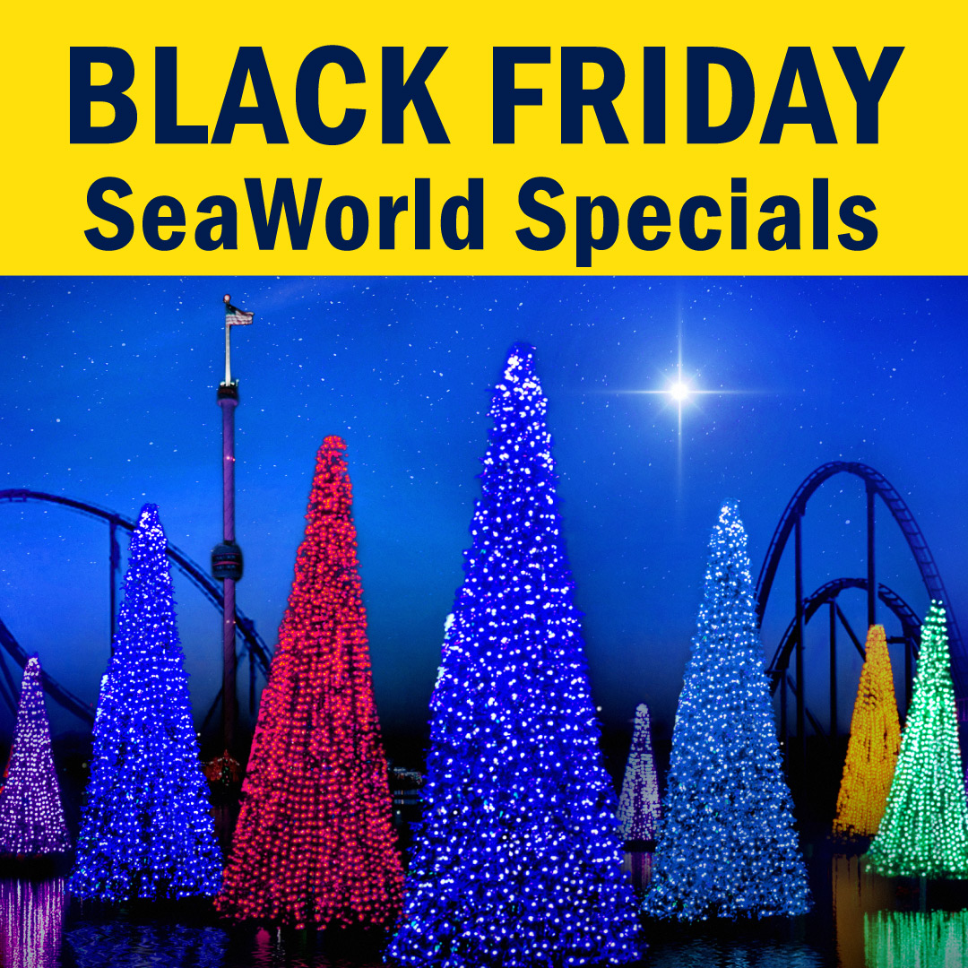 SeaWorld - Busch Gardens Black Friday Specials - 2020