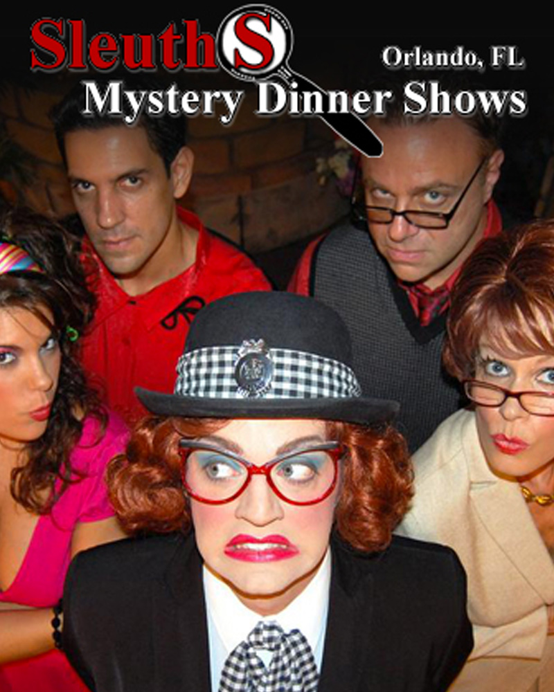 Sleuths Mystery Dinner Show - KGS