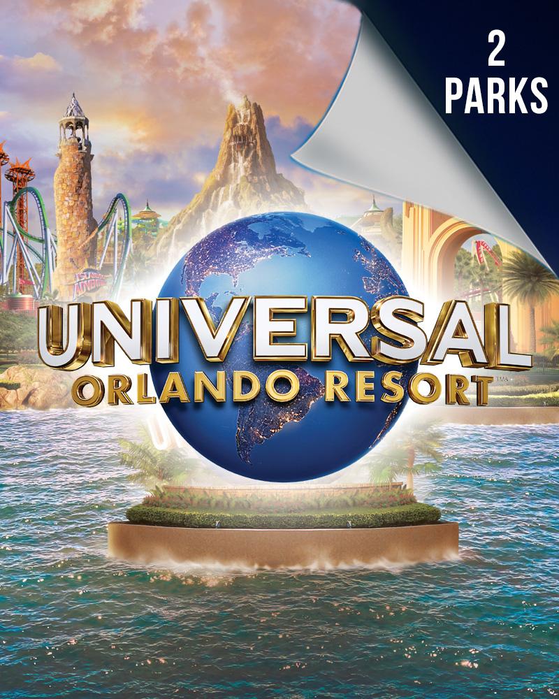 2 Parks Universal Orlando DTD