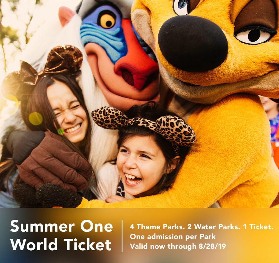 Disney's Summer One World Ticket