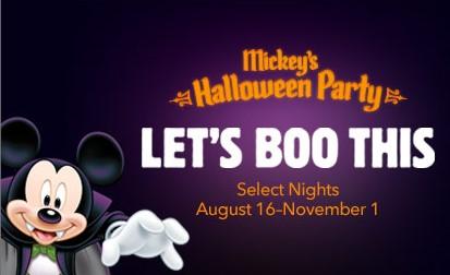 Mickeys Not So Scary Halloween Party 2020