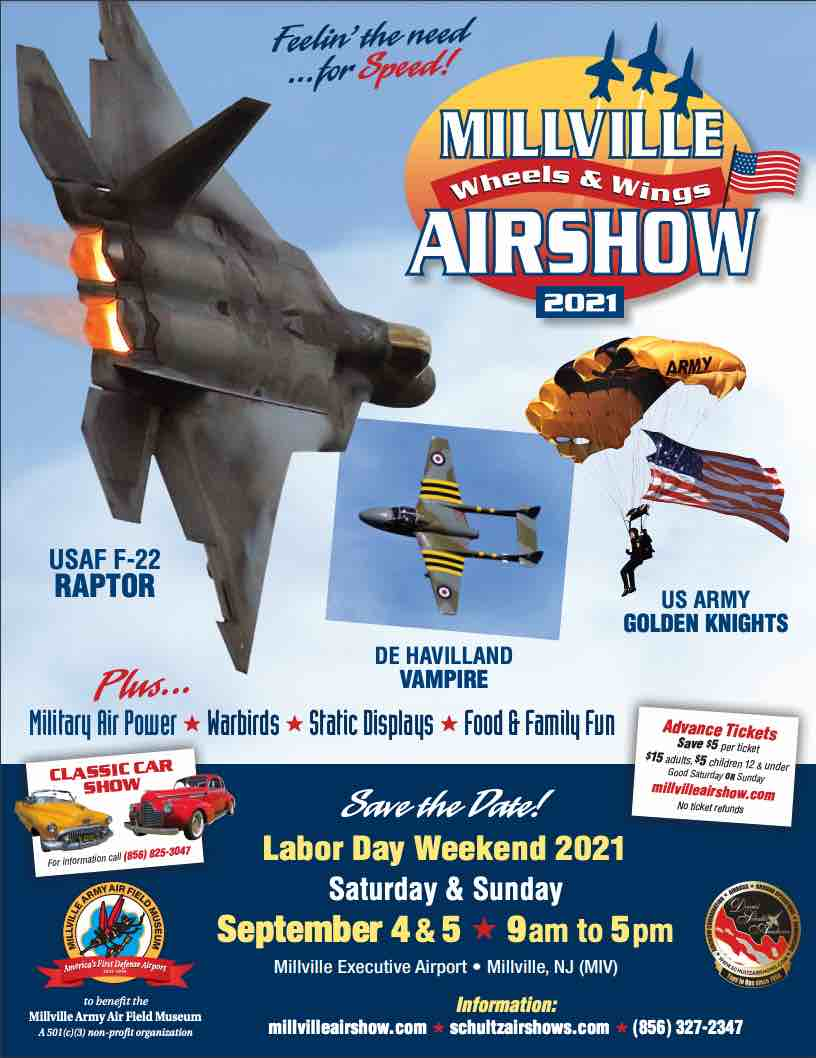 Millville Wheels & Wings Air Show
