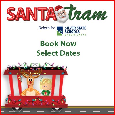 12/21/2019 - Santa Tram driven by Silver State Schools Credit Union